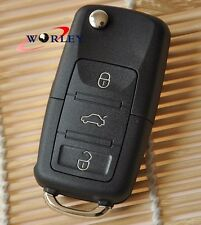 Remote Key Case Shell FOR VW BEETLE JETTA PASSAT GOLF Rabbit MK4 MK5 R32 GTI NEW