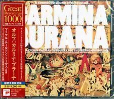MICHAEL TILSON THOMAS-ORFF: CARMINA BURANA -JAPAN CD B63