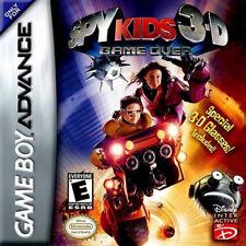 Spy Kids 3D GBA New game_boy_advance