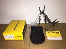 New Leatherman Sidekick Multi-Tool Stainless With Nylon Sheath 831429
