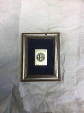ALFA ROMEO Milano Stamp in Frame (Ref.86)