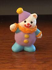 Hallmark 1995 Merry Miniature Happy Birthday Clown Bear #1
