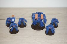 Warhammer 40k Space Marine Dreadnought and Terminator Squad