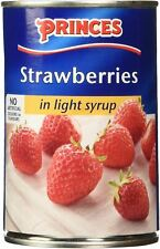 Princes Strawberries in Syrup - 420g - Pack of 1