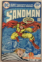 The Sandman #1 (Winter 1974, DC) 1st App Of Brute and Glob!