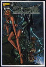 DARKCHYLDE #1 WIZARD ACE EDITION SIGNIERT SIGNED RANDY QUEEN + COA ! WITCHBLADE