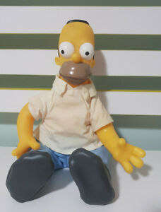 HOMER SIMPSON THE SIMPSONS CHARACTER TOY 30CM 2002! MATT GROENING CHARACTER