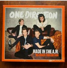 One Direction Made in the A.M. CD 2015 Rock Pop Album Ultimate Fan Edition