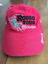 Baseball Hat One Size Adjustable Back Strap Cap Dodge Rodeo Tour 2003