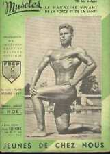 MUSCLES 19 1947 Bodybuilding Beefcake Young physique Magazine boy GAY interest