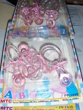 22pcs//Set Pacifier Necklaces Game Prizes Gifts Candy Gift Boxes Baby Shower