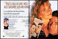 PRELUDE TO A KISS__Original 1992 Trade AD movie promo__ALEC BALDWIN__MEG RYAN