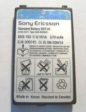 2x Sony Ericsson BST-30 BST30 T226 T290 T237 T230 Z500 K700 Z200 K300 F500 K508