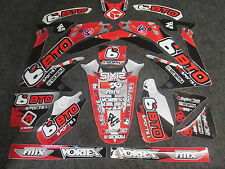 Honda CRF450 2005-2008 BTO Sports Team Issue Gráfico Set GR1424