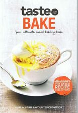 Taste BAKE Mini-Cookbook A5 Size 56 Pages FREE POST