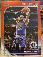 2019-20 NBA Hoops Premium Stock LeBRON JAMES SSP RED PRIZM Rare Blaster🏀🔥🐐