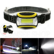 Waterproof COB LED Spotlight 3 modes AAA flashlight outdoor Super bright Lamp