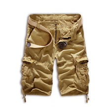 Mens Casual Camo Shorts Combat Short Pants Military Army Cargo Work Trousers Hot