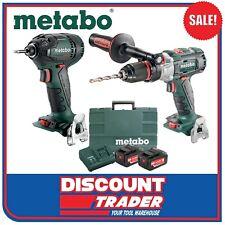 Metabo 18V Li-Ion Brushless 2Pc Kit Hammer Drill/Diver Impact Driver AU68901730