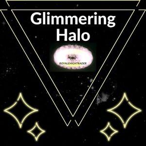 Glimmering Light Halo + 300k - Royale High - Virtual Item (READ DESCRIPTION)