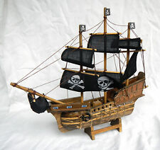 Large Wooden Pirate Ship Model - BNIB