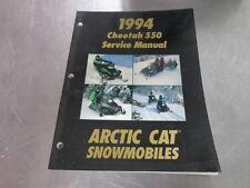 1994 Arctic Cat Cat Snomobile Service Manual Cheetah 550
