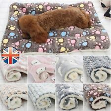 Pet Blanket Cat Dog Puppy Bed Mattress Winter Kennel Fleece Calming Sleeping-Mat