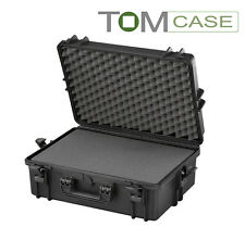 Outdoor Case 555x430x210 Fotokoffer wasserdicht IP67 Kamerakoffer Rasterschaum