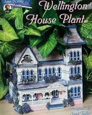Plastic Canvas  Wellington House Planter  Patterns