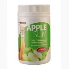 1 x APPLESLIM 120 CAPSULES ORGANIC Apple Cider Vinegar Vegetable Capsules