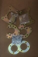 """Ford 9"""" Inch Small/Big Bearing Torino End Disc Brake Conversion Brackets (Only)"""