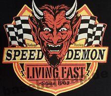 T-Shirt Nr.714 Gr.S-M-L-XL-2XL schwarz Biker Hot Rod PinUp Rockabilly V8