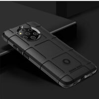 For Nokia 9 PureView Shockproof Rugged Shield Armor Soft TPU Strong Case Cover