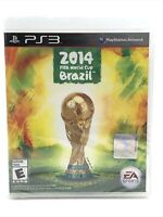 2014 FIFA World Cup Brazil Sony PlayStation 3 *Factory Sealed! *Free Shipping!
