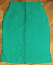 Unbranded Knee-Length Solid Regular Size Skirts for Women