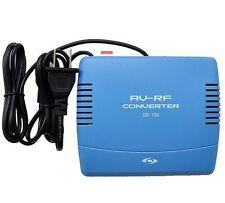 RF Modulator  AV-RF AV-TV RCA Ant Input to F Type Coax Output Converter