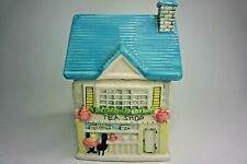"Vintage ""Houston Harvest"" Tea Bag house, Tea Shop House Design Big House"