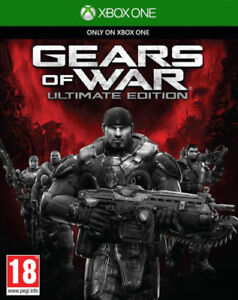GEARS OF WAR ..ULTIMATE EDITION ...XBOX ONE GAME ONLY NO BOOKLET