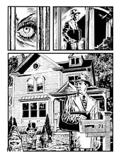 BLOKE'S TERRIBLE TOMB OF TERROR #6 'UNTIL DEATH DO US NOT' PG 1 ART BY ROB MORAN
