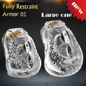 New Arrival Amazing Design Male Fully Restraint Bowl Chastity Device ARMOR 01