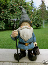 New listing Woodland Garden w/watering can Gnome Anthony Fisher 12 In.Yard Decor Ornament