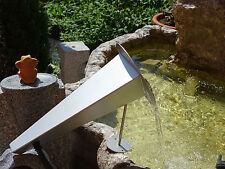 Heissner Edelstahl Wasserspeier, Überlaufkannte Anubis