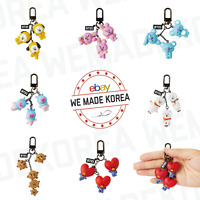 BT21 Character Figure Keyring DANGLE Ver. 7types Official K-POP Authentic Goods