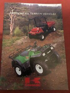 Kawasaki Atv & Mules Brochure