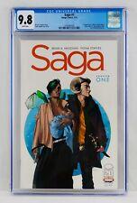 Saga #1 CGC 9.8 White Pages Image Comics First Print 1st Printing NM/MT Hot Key