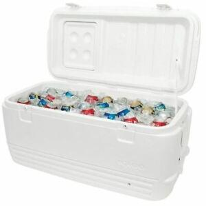 Igloo Cooler 95 Litre Quick & Cool Cool Box Fishing Camping Caravan Motorhome