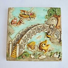 Harmony Kingdom Picturesque - Byron's Secret Garden - Bumble's Bridge - 1999