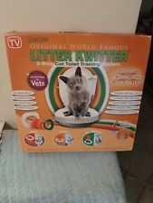 Litter Kwitter 3 Step Cat Toilet Training System