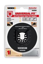 WORX 80mm Sonicrafter Oscillating Multitool Universal Circular Saw Blade