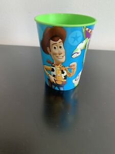 Disney TOY STORY 16oz Reusable Plastic Drinking Cup Birthday Party NEW (4 Avail)